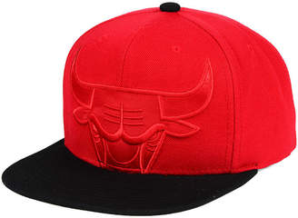 Mitchell & Ness Chicago Bulls Cropped Satin Snapback Cap