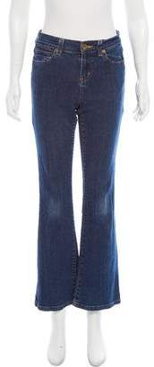 DKNY Mid-Rise Bootcut Jeans