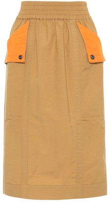 Marc Jacobs Cotton-blend skirt
