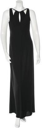 Vera Wang Sleeveless Maxi Dress $165 thestylecure.com