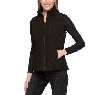 Andrew Marc Ladies' Quilted Vest (, Olive)