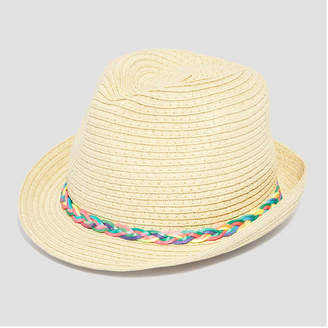 Joe Fresh Baby Girls Straw Fedora