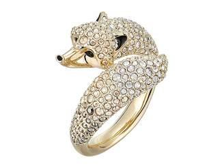Swarovski March Fox Motif Ring