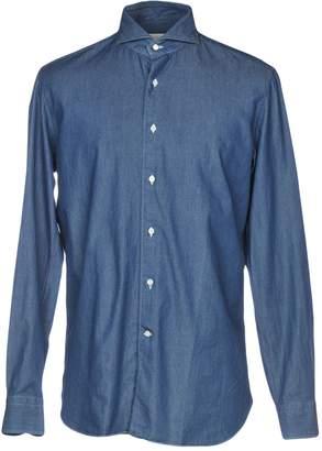 Cruciani Denim shirts