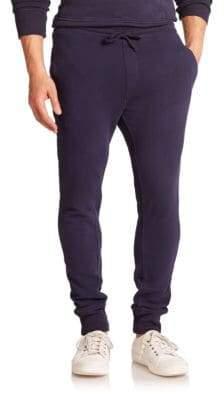 Wahts Cotton& Cashmere Cuffed Sweatpants