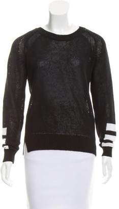 360 Cashmere Long Sleeve Crew Neck Sweater