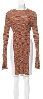 Ellery Patterned Long Sleeve Top