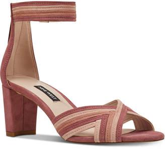 Nine West Pearl Woven Block-Heel Sandals Women Shoes