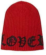 "Amiri Men's ""Lover"" Rib-Knit Cashmere-Wool Beanie - Red"