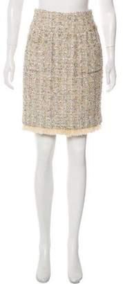 Chanel Fantasy Tweed Skirt