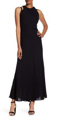 Taylor Cutout Detail Formal Maxi Dress