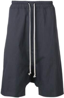 Rick Owens baggy fit shorts