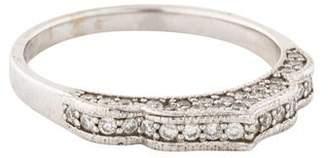 Sara Weinstock 18K Diamond Tall Full Midi Ring