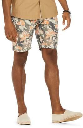 Scotch & Soda Floral Print Regular Fit Shorts