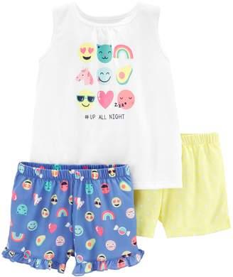 Carter's Girls 4-14 Tank Top & Shorts Pajama Set