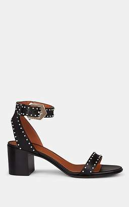Givenchy Women's Elegant Studded Leather Sandals - Black
