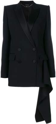 Alexander McQueen classic fitted blazer