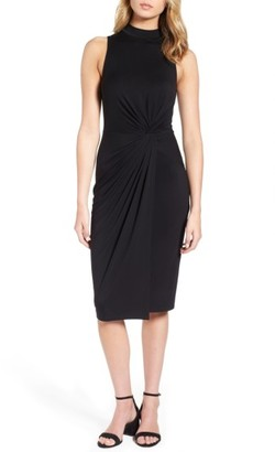 Women's Soprano Twist Front Body-Con Dress $42 thestylecure.com