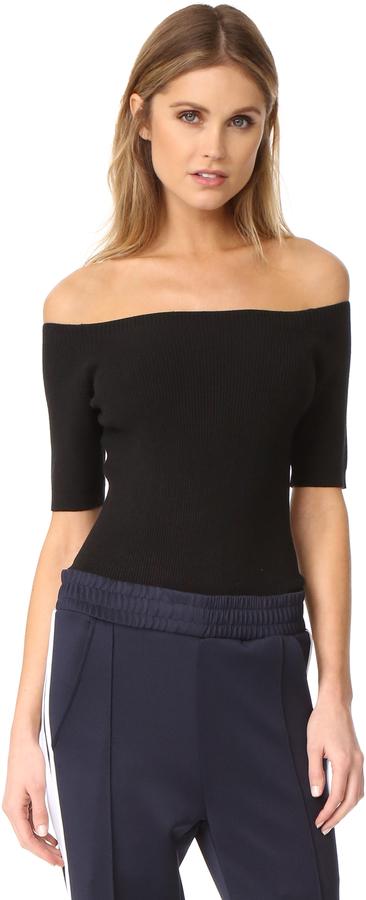 DKNY Off Shoulder Bodysuit