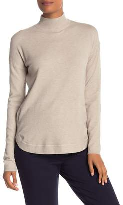 Cyrus Yummy Yarn Mock Neck Zipped Sweater