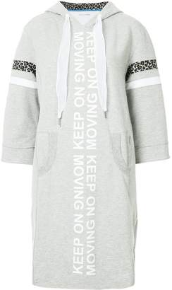 Marc Cain hooded sweater dress