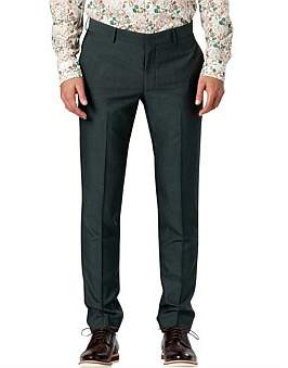Calibre Forest Green Slim Suit Pant W9