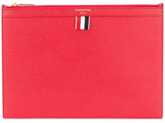 Thom Browne small zipped tablet holder