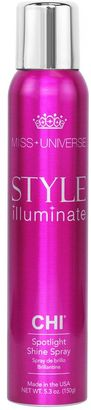 Miss Universe Style Illuminate by CHI Spotlight Shine Spray $15 thestylecure.com