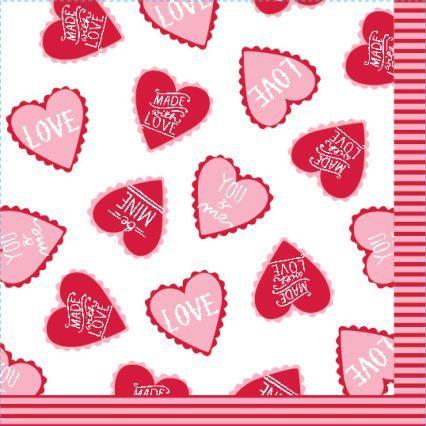 Sur La Table Meri Meri® Scattered Hearts Paper Cocktail Napkins
