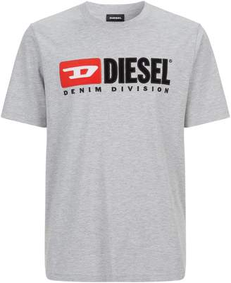 Diesel Logo Embroidered T-Shirt
