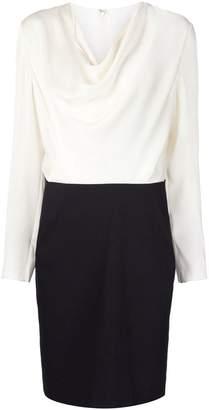 Lanvin bi-material dress