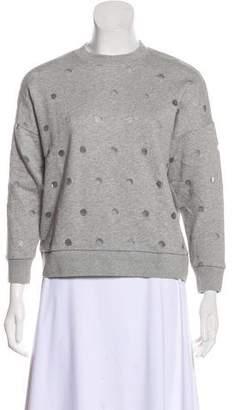 MAISON KITSUNÉ Crew Neck Long Sleeve Sweatshirt