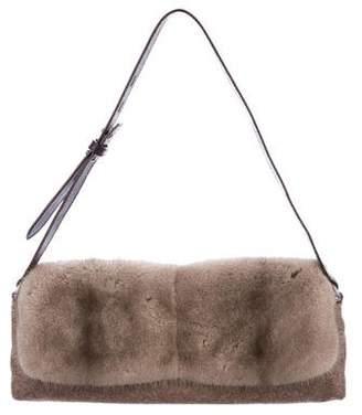 Brunello Cucinelli Mink Shoulder Bag