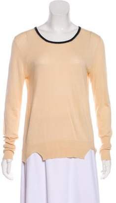 Band Of Outsiders Long Sleeve Knit Sweater