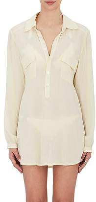 OndadeMar WOMEN'S CUTOUT COVER-UP SHIRT