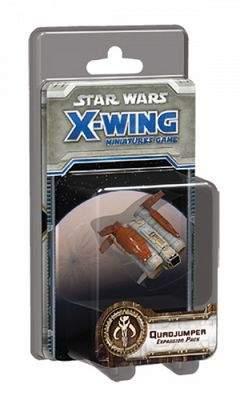 Star Wars Fantasy Flight Games X-Wing Quadjumper Expansion Pack