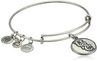 Alex and Ani Collegiate USC Logo Expandable Rafaelian Silver-Tone Wire Bangle Bracelet