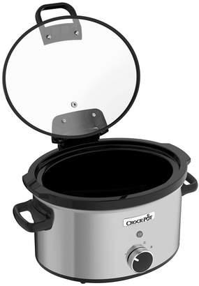 Crock Pot Crock-Pot - Stainless Steel Hinged Lid 3.5L Slow Cooker - Csc044