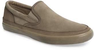 John Varvatos Suede Jet Slip-On Sneaker