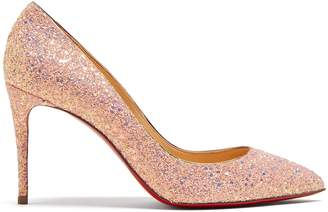 Christian Louboutin Pigalle Follies 85 glitter-embellished pumps