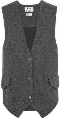 Acne Studios Oversized Wool-Tweed Gilet