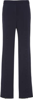 Jil Sander Luna Button Detail Wool Pants