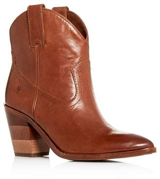 Frye Women's Faye Chevron Western High-Heel Booties