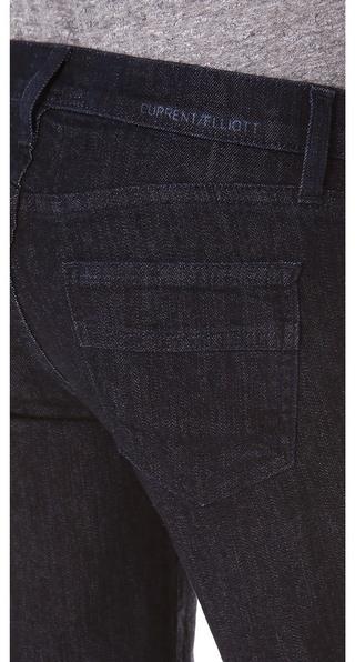 Current/Elliott The Wide Leg Jeans