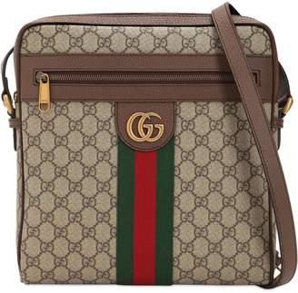 Gucci (グッチ) - GUCCI OPHIDIA GG SUPREME ミディアム メッセンジャーバッグ