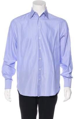 Armani Collezioni Woven French Cuff Shirt
