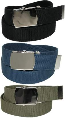 Cotton Belt CTM® Big & Tall with Nickel Buckle (Pack of 3 Colors)