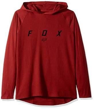 Fox Men's TRANZCRIBE Long Sleeve Lightweight Hooded Thermal