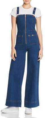 Alice McCall Quincy Denim Overalls
