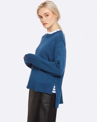 Oxford Vicky Soft Knit Teal Blu